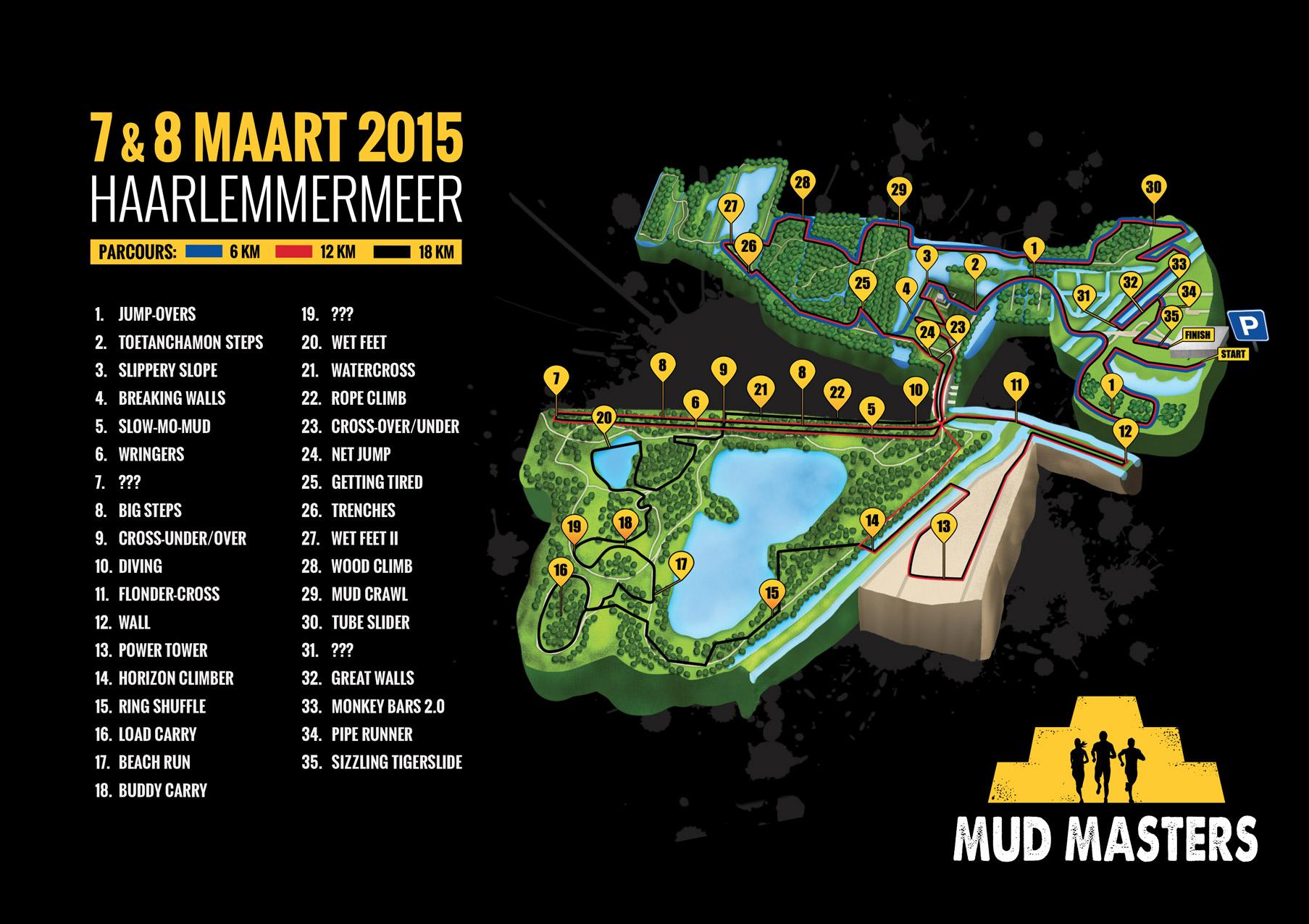 Haarlemmermeer 2016 - Mud Masters Obstacle Run