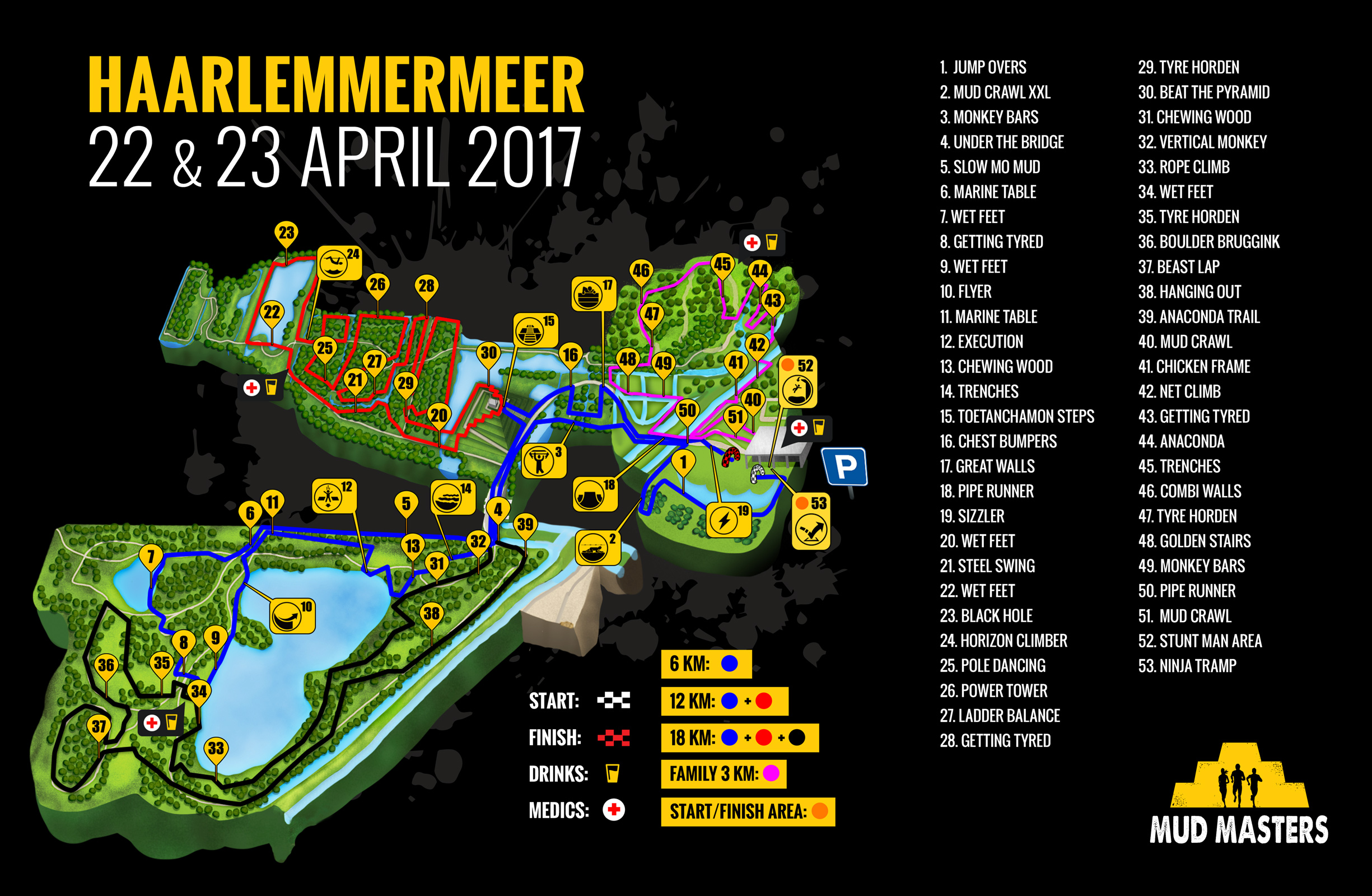 Haarlemmermeer 2017 - Mud Masters Obstacle Run