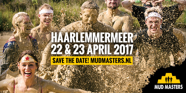 SAVE THE DATE: 22 & 23 april 2017 - Haarlemmermeer! - Mud ...