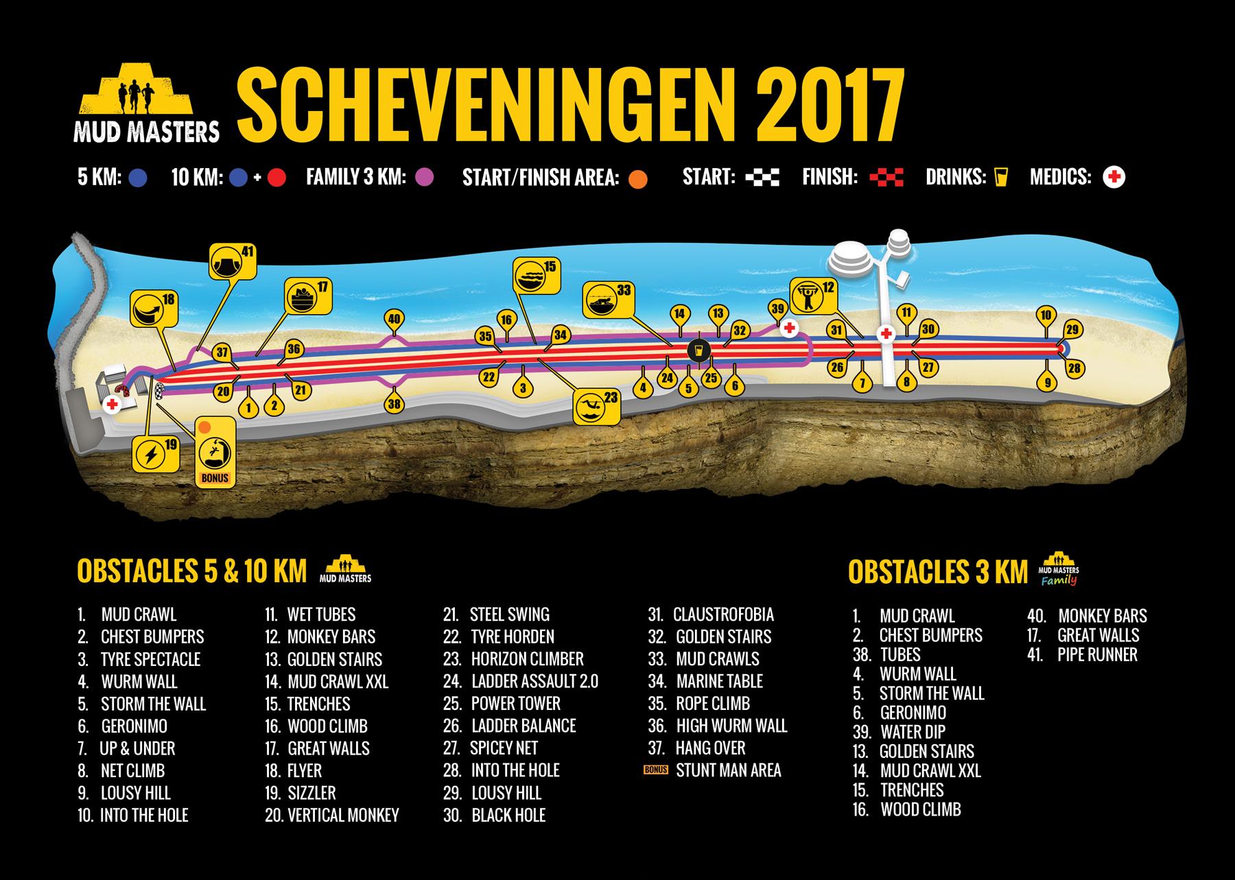 Scheveningen 2017 - Mud Masters Obstacle Run